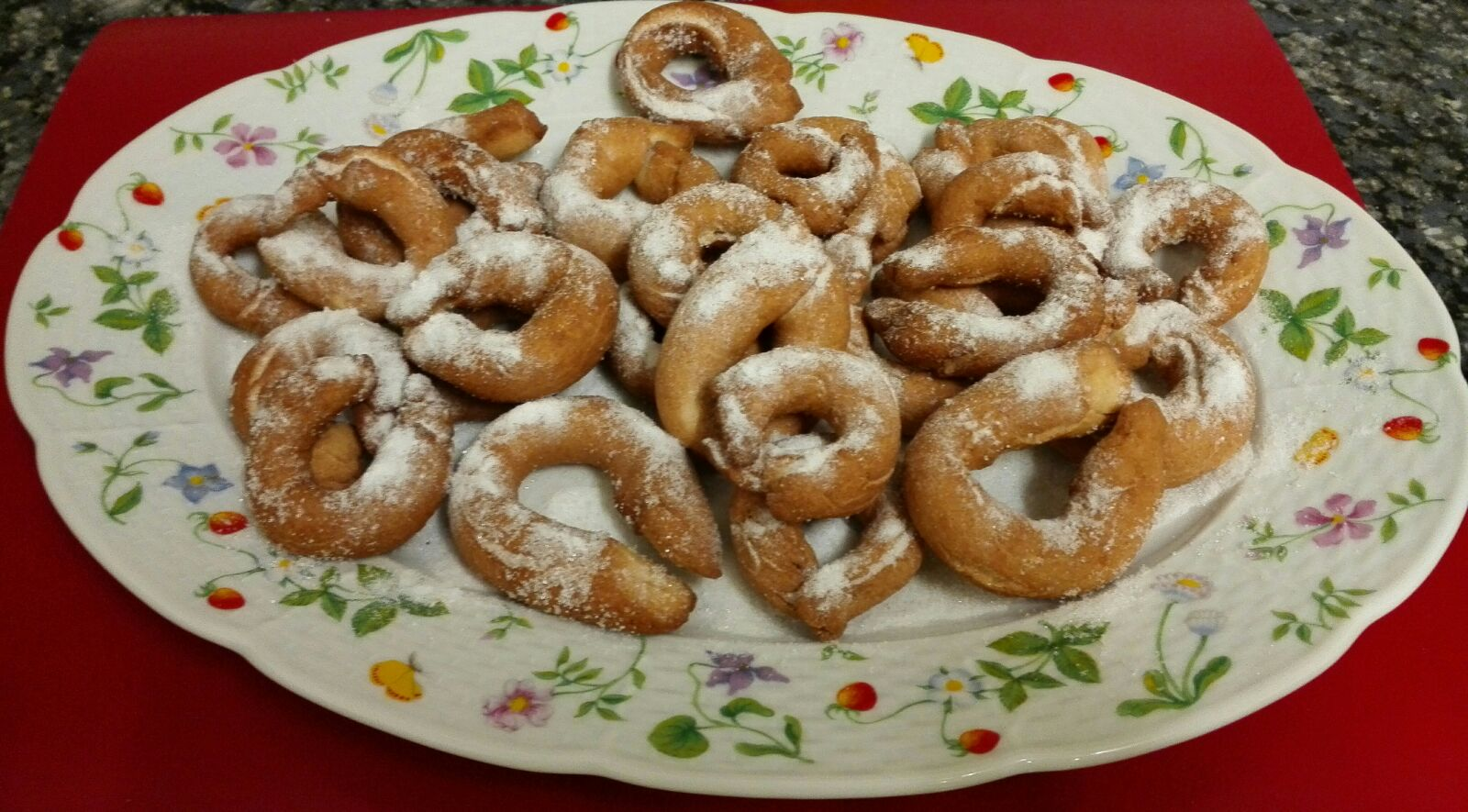 Rosquillas tradicionales sin lactosa
